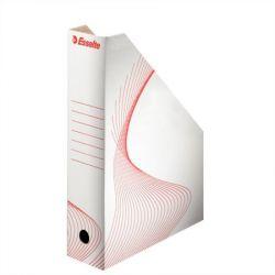 """ESSELTE """"Standard"""", Iratpapucs, karton, 80 mm, összehajtható,fehér"""