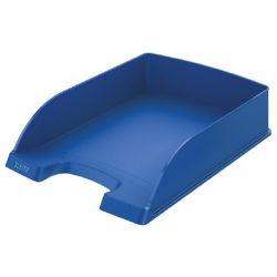 """LEITZ """"Plus"""" műanyag kék irattálca"""
