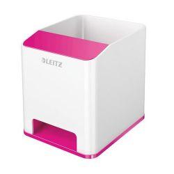 """Leitz """"Wow"""" fehér/rózsaszín írószertartó"""