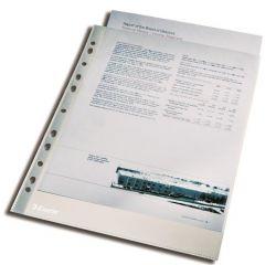 """ESSELTE """"Luxus"""" A4 105 mikron lefűzhető víztiszta felületű genotherm"""