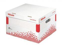 """ESSELTE """"Speedbox"""" M méretű újrahasznosított karton fehér archiváló konténer"""