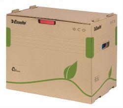 """ESSELTE """"Eco"""" újrahasznosított karton barna archiváló konténer iratrendezőknek"""