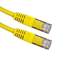 Esperanza EB272Y Cat 5e UTP 0.5m sárga patch kábel