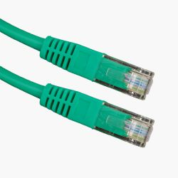 Esperanza EB273G Cat 5e UTP 1m zöld patch kábel
