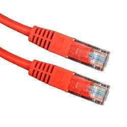 Esperanza EB273R Cat 5e UTP 1m piros patch kábel