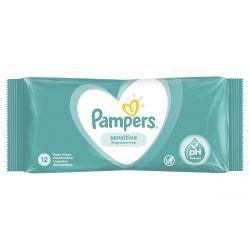 Pampers Sensitive 12 darabos nedves törlőkendő