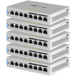 Ubiquiti UniFi 8port Gigabit (4x PoE+/48V PoE, 60W) 5db switch