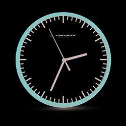 Esperanza EHC010W Budapest fekete-fehér fali óra