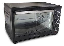 Esperanza EKO006 Napoli 25L 1600W fekete mini sütő