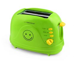 Esperanza EKT003 SMILE zöld kenyérpirító