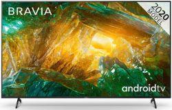 """Sony KE85XH8096BAEP 85"""" 4K UHD Smart LED Android fekete televízió"""