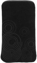 Esperanza EMA105K-S (110 x 62mm) univerzális fekete mobiltelefon tok