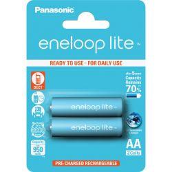 Panasonic Eneloop Lite AA 950mAh NIMH (2 db) Újratölthető elem