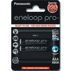 Panasonic Eneloop Pro AAA 950mAh NIMH (2 db) Újratölthető elem