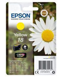 Epson T1804 3,3ml sárga tintapatron