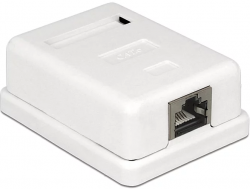 Delock 1xRJ45 Port Cat.6 LSA moduláris fali kimenet