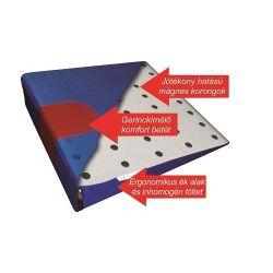 Alvital GYVA01 ék alakú kék mágneses gyógyülőpárna