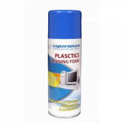 Esperanza ES104 Plastic 400 ml műanyag tisztító hab