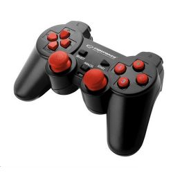 Esperanza EGG102R Warrior PC USB fekete-piros vezetékes kontroller