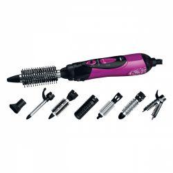 Sencor SHS 7551VT 1000 W, 2 fokozat lila-fekete meleglevegős hajformázó