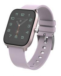iGET FIT F45 IPS LCD Bluetooth rózsaszín szilikon szíjjas okosóra