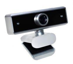 Vakoss WS-3328X HD 1.3MP 30fps ezüst mikrofonos webkamera