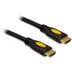 Delock Cable High Speed HDMI with Ethernet - HDMI-A male > HDMI-A male 4K 0.5m kábel
