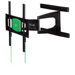 "Hama ""Full Motion"" 32-56"" max. 25kg 3 csuklós 2 karos ultra slim fali fekete TV konzol"