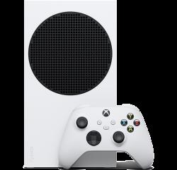 Microsoft Xbox Series S RRS-00010 512GB SSD, 1440p, 4 TFLOP fehér-fekete játékkonzol