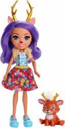 Mattel Enchantimals - Danessa Deer és Sprint baba állatkával
