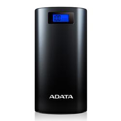 ADATA P20000D 20000mAh, LED flashlight, black Power Bank