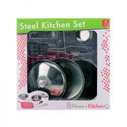 REGIO 27526 konyhai edény szett 6 darab/csomag