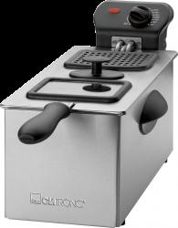 Clatronic FR3587 2000W 3L rozsdamentes acél inox olajsütő