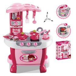 G21 008-801 rózsaszín gyerekkonyha