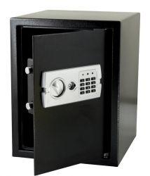 G21 GA-E45 450x350x350mm rögzíthető fekete-fém digitális széf