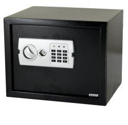 G21 GA-E30 380x300x300mm rögzíthető fekete-fém digitális széf