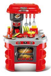 G21 008-908A Kis szakács, piros gyerekkonyha