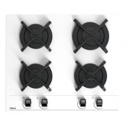 TEKA 112580021 7300W 4-zónás fehér beépíthető gáz főzőlap