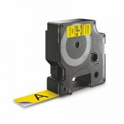 """DYMO """"D1"""" 19 mm x 7 m sárga-fekete feliratozógép szalag"""