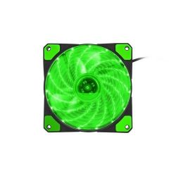 Natec Genesis HYDRION 120mm LED zöld ventilátor