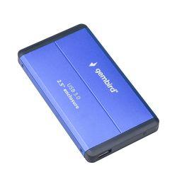 """Gembird EE2-U3S-2-B USB 3.0,, 2,5"""" kék-fekete külső merevlemez ház"""
