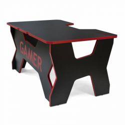 Generic Confort Gamer2DS/NR 200kg, piros szegély, fekete gamer asztal