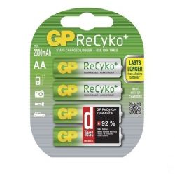 GP B08274 ReCyko HR6 4db 2000mAh PRO AA akku elem