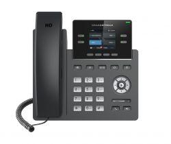 Grandstream GRP2612W HD 2 soros TFT Wi-Fi Fekete IP telefon