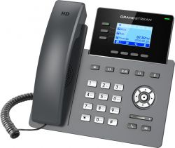 Grandstream GRP2603P HD LCD Fekete IP telefon
