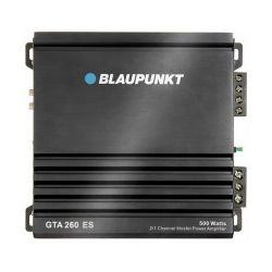 Blaupunkt GTA 260ES fekete 2 csatornás autóerősítő