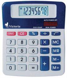 VICTORIA GVA-430AP 8 számjegyes asztali számológép