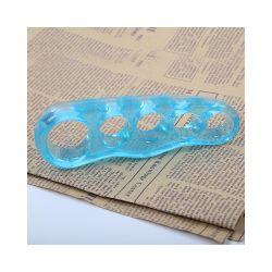 Vivafit GYVFLTE3942 39-42, 5 ujjas kék éjszakai lábujj távtartó