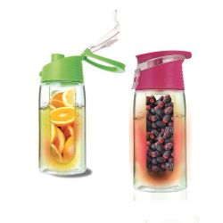 Vivamax HX-613 450 ml rózsaszín limonádé készítő palack