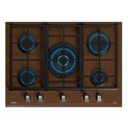 TEKA 112570106 11300W 5-zónás barna beépíthető gáz főzőlap